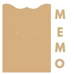 460.440.411 - Dutch Doobadoo Dutch MDF Memo klembord 40.411
