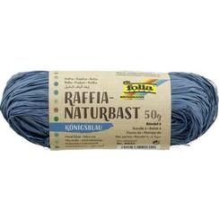9035 - Folia Natuurraffia 50gr - koningsblauw