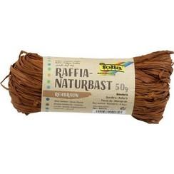 9075 - Folia Natuurraffia 50gr - bruin