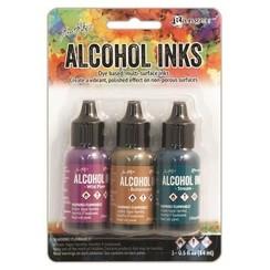 TIM19787 - Ranger Alcohol Ink Kits  Nature Walk 3x15 ml 787 Tim Holtz 3x15ml