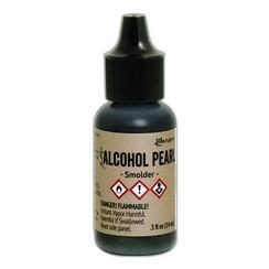 TAN65128 - Ranger Alcohol Ink Pearl 15 ml - Smolder 128 Tim Holtz
