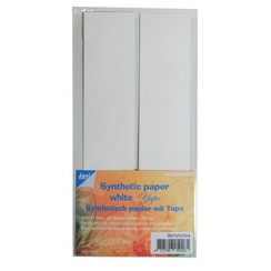 8011/0704 - Synthetisch Papier - 225x47 mm – Yupo Wit