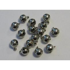12242-4202 - Sieraden belletjes zilver 8 mm 16 ST