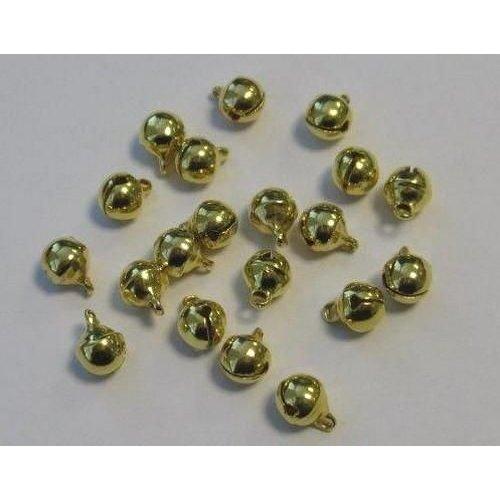 12242-4211 - Sieraden belletjes goudkleur 6 mm 20 ST