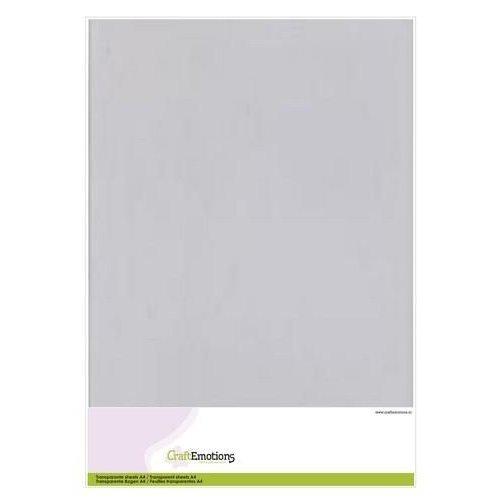 CraftEmotions 3.1000 - CraftEmotions Transparante sheets A4  1PK/5VL 0