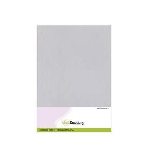 CraftEmotions 3.1010 - CraftEmotions Transparante sheets A5 1PK/ 10VL 0