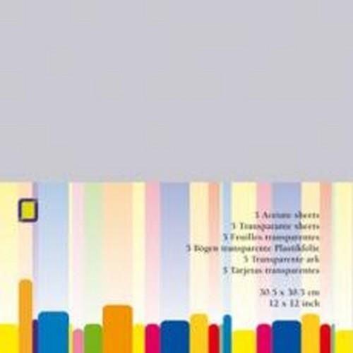 3.1020 - Transparante sheets(30.5x30.5cm)