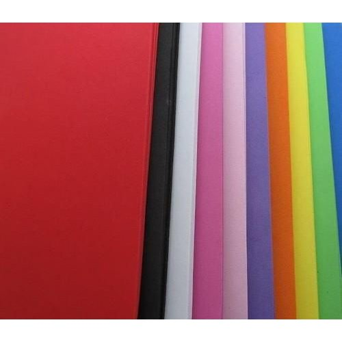 12315-1501 - EVA foam vellen 2mm 22 x 30 cm 10 kleuren 50st (5 vl x 10 kle -1501