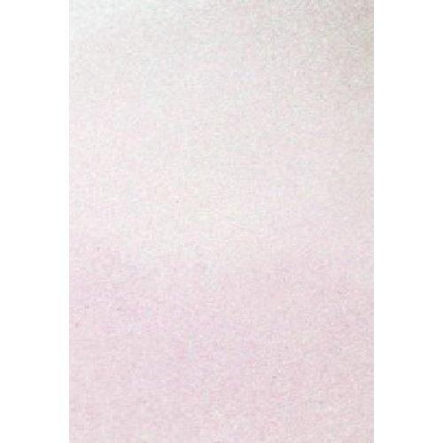 12315-1533 - Glitter Foam Sheets Rainbow White, 2mm, 22x30cm, 5pcs