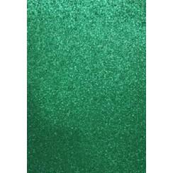 12315-1535 - EVA foam vellen 2mm 22x30cm 5 st Groen glitter -1535