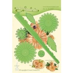 45.5664 - Lea'bilitie Multi die flower 018 Chrysanthemum 3D snij en embossing mal