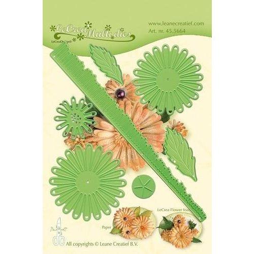 Leane Creatief 45.5664 - Lea'bilitie Multi die flower 018 Chrysanthemum 3D snij en embossing mal