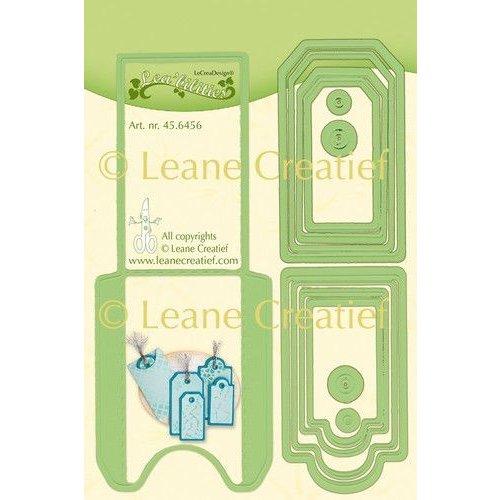 Leane Creatief 45.6456 - Lea'bilitie Pocket & Labels snij en embossing mal