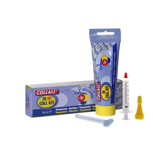 COLKIT080DS - Collall collkit incl.sleutel & spuit 80 ML T080DS