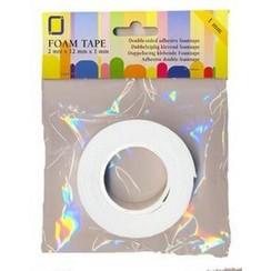 3.3005 - 3D foam tape 2mtr x12mmx0.5mm