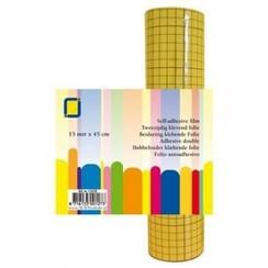 1.0135 - 2-zijdig klevend folie (raster) 1 RL 15MT 45 mm