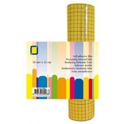 1.0136 - 2-zijdig klevend folie (raster) 32 mm 1 RL 10MT