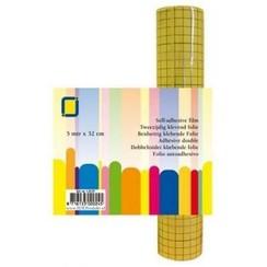 1.0137 - 2-zijdig klevend folie (raster) 32 mm 1 RL 5MT
