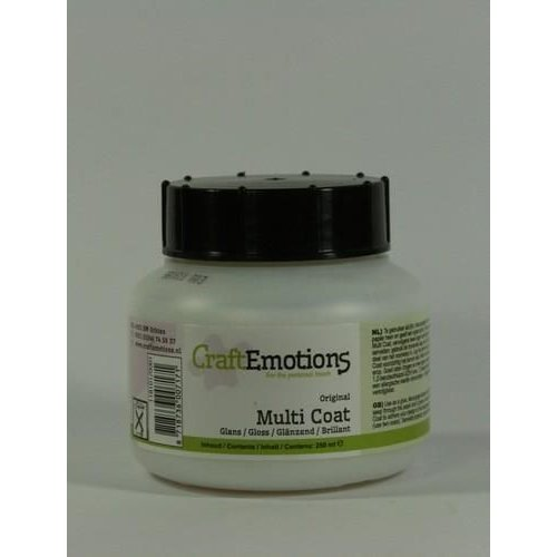 CraftEmotions 10420 - CraftEmotions  Multi coat glans 250ML