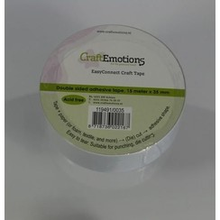 119491/0035 - CraftEmotions EasyConnect (dubbelzijdig klevend) Craft tape 15m x 35mm