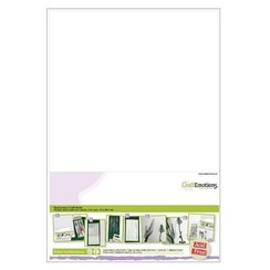 119491/0004 - CraftEmotions EasyConnect (dubbelzijdig klevend) Craft sheets A4 - 5 sheets