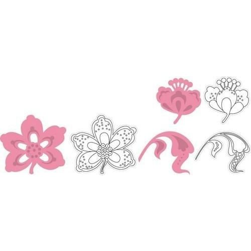 Marianne Design COL1303 - *Collectable Flowers and leaf