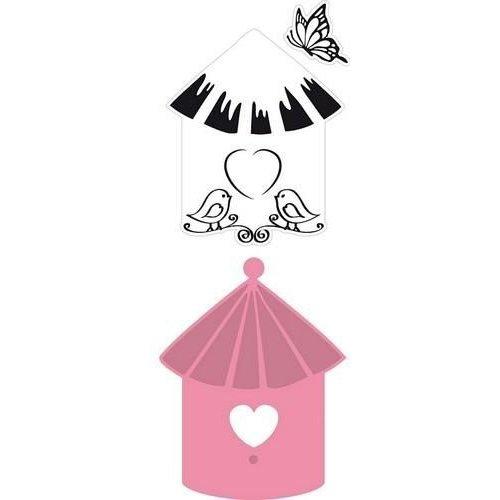 Marianne Design COL1310 - Collectable Birdhouse  birds