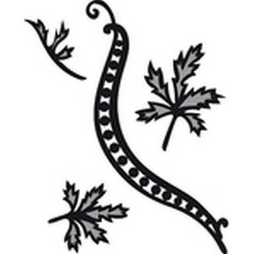 Marianne Design CR1243 - Marianne Design Craftable Tiny´s swirls & leaves 1