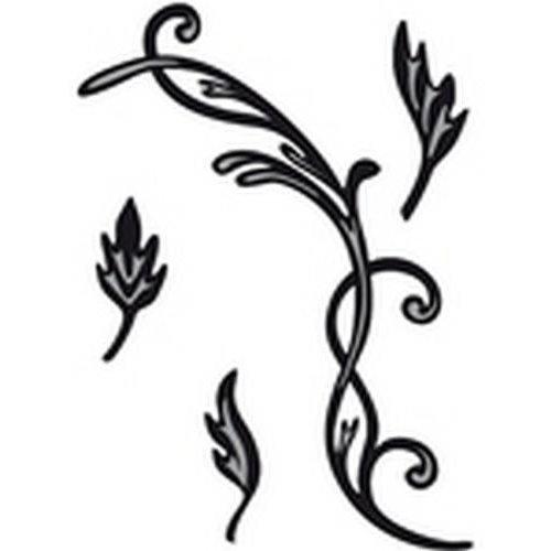 Marianne Design CR1244 - Marianne Design Craftable Tiny´s swirls & leaves 2