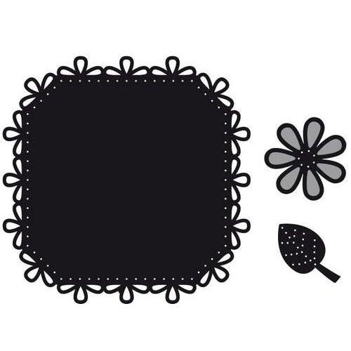 Marianne Design CR1249 - Craftables Vierkant en bloem borduren 9