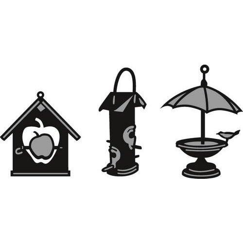 Marianne Design CR1291 - Marianne Design Craftable Tiny's Birdhouse (3 pcs)
