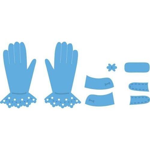 Marianne Design LR0336 - Marianne Design Creatable Tiny's Gloves