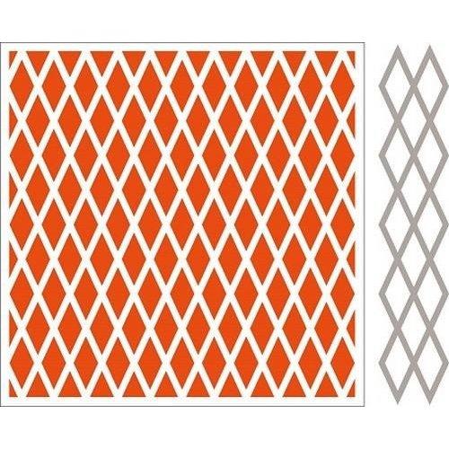 Marianne Design DF3410 - Embossing folder + die Diamonds 0