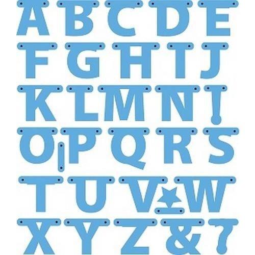 Marianne Design LR0340 - Creatables Alphabet garland 0