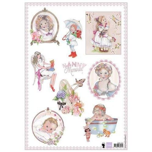 Marianne Design EWK1231 - 3D Knipvellen Nanny Memories 2 - A4 31