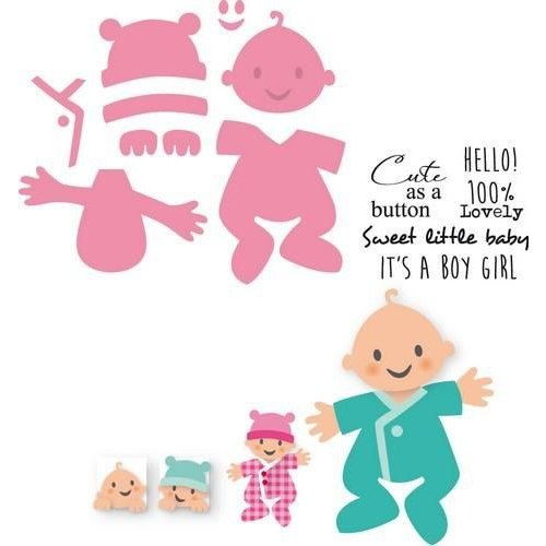 Marianne Design COL1387 - Collectables Eline's Baby 87