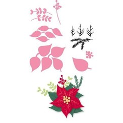 COL1393 - Marianne Design Collectable Eline's Poinsettia
