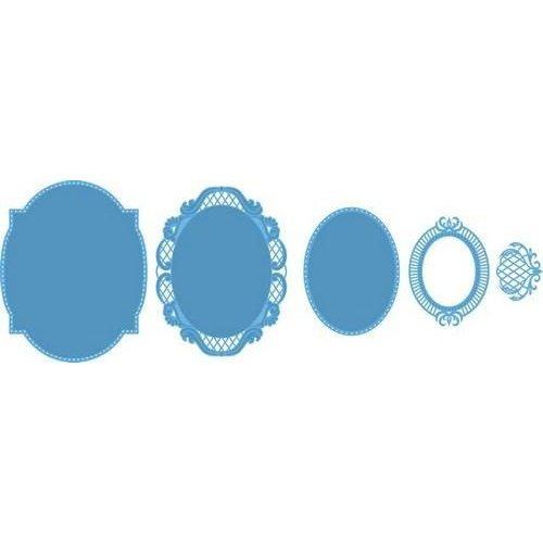 Marianne Design LR0376 - Creatable Anja´s oval 6