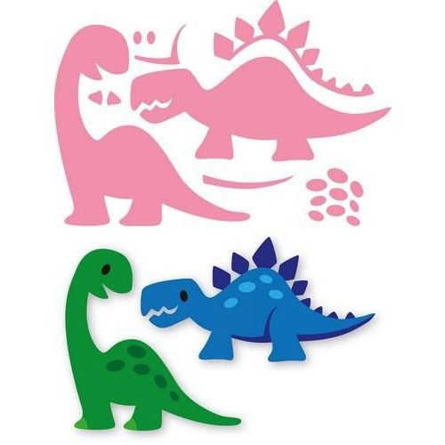 Marianne Design COL1400 - Collectable Eline's Dino's 00