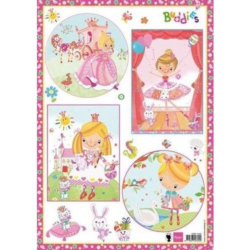 Marianne Design EWK1242 - 3D Knipvellen Buddies Girls 42