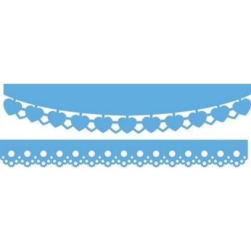 Marianne Design LR0413 - Creatable Hearts & cotton lace 3