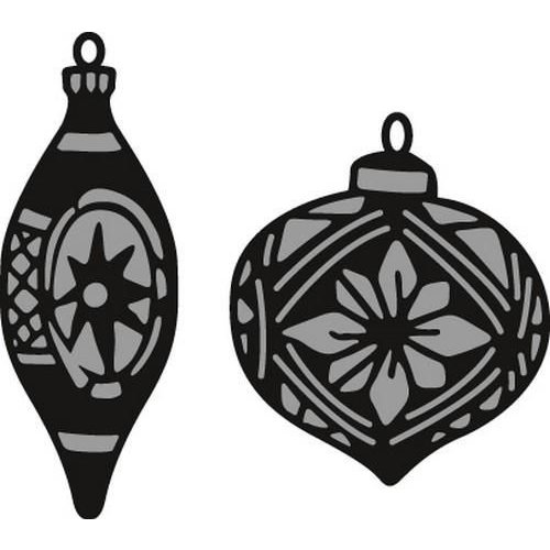 Marianne Design CR1379 - Craftable Tiny's ornaments baubles 9