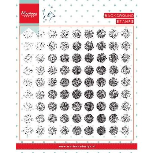 Marianne Design CS0977 - Stempel Tiny's background Distressed dots 7