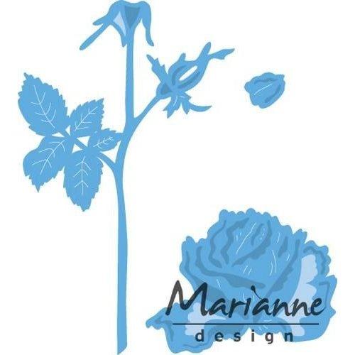 Marianne Design LR0451 - Creatable Tiny's roos 1 9,5x13,0cm