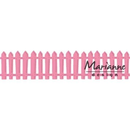 Marianne Design COL1423 - Collectable Wit tuinhek 23  15x13 cm