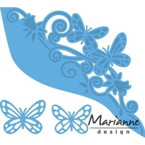 Marianne Design LR0456 - Creatable Vlinder border 6 12x14cm