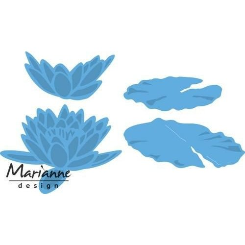 Marianne Design LR0460 - Marianne Design Creatable Tiny's waterlily (L)