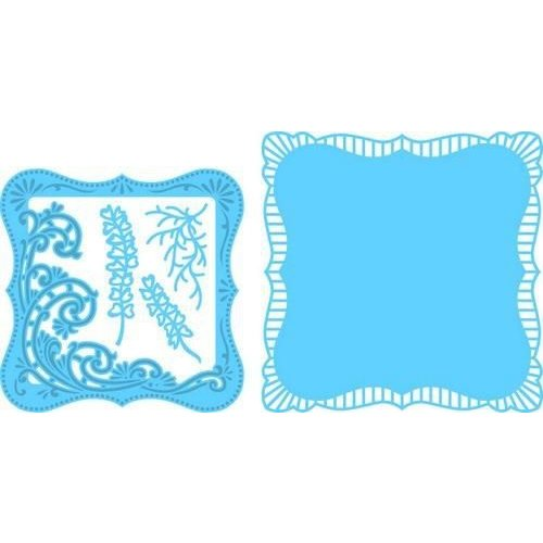 Marianne Design LR0470 - Creatable Anja's vierkant met swirls 0 16,0x18,5cm