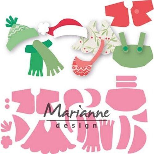 Marianne Design COL1438 - Collectable Eline's kleding 38