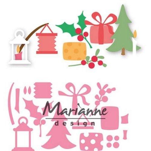 Marianne Design COL1439 - Collectable Eline's kerstversiering 39
